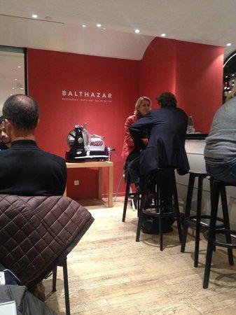 Le Balthazar: près du bar