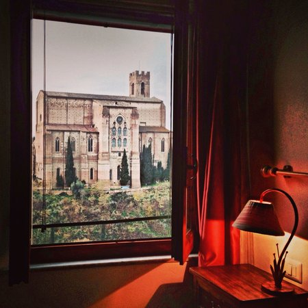 Casacenti: Vista dalla camera rosa