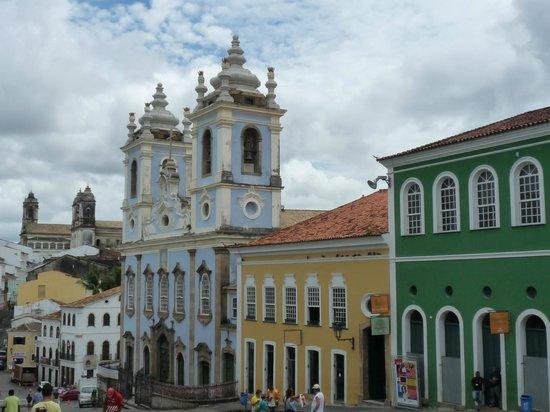 Hotel Casa do Amarelindo: town square
