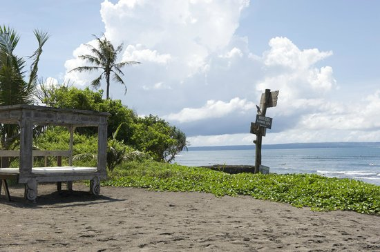 Hotel Tugu Bali : Beach front