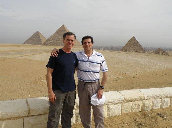 Plateau de Gizeh : Con Marcelo en las pirámides