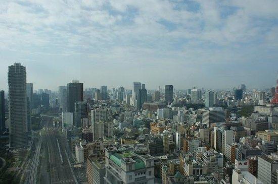 Royal Park Hotel The Shiodome, Tokyo: Вид из окна