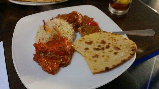 Ayr India: My dinner