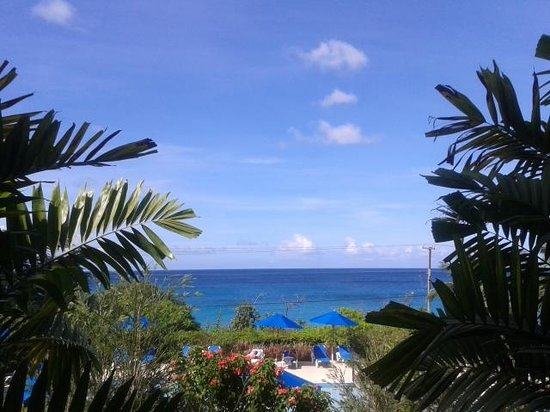 Beach View : The view from our lounge.