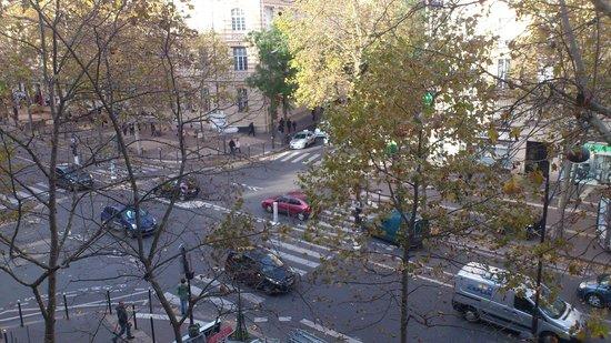 Hotel L'interlude: vista desde la habitación de día