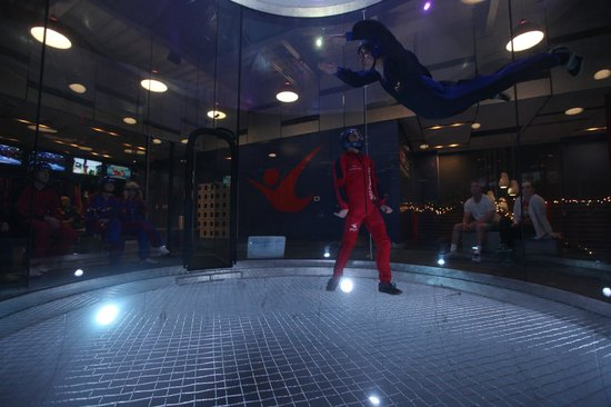 iFLY Indoor Skydiving - Austin: Relax and enjoy the wind