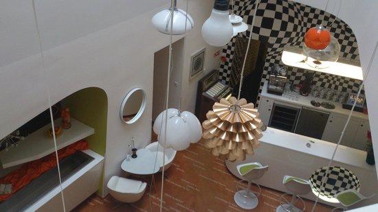 Vintage Design Hotel Sax: corridor
