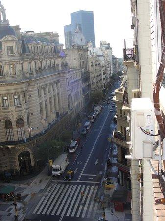 Hotel Centro Naval: Vista da Av. Cordoba, a partir do Hotel
