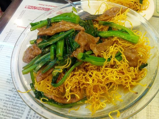 Great Ny Noodletown Pan Fried Noodles W Beef And Vegetables