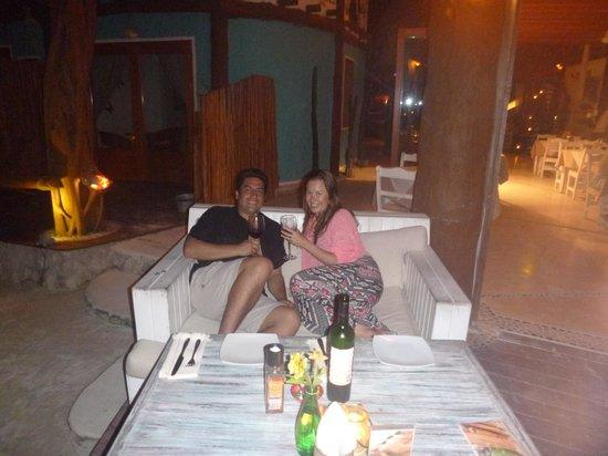 Holbox Hotel Casa las Tortugas - Petit Beach Hotel & Spa : cena romantica