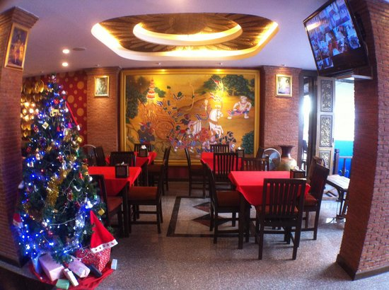 Tanawan Phuket Hotel: Christmas Decoration