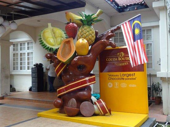 Cocoa Boutique: Eingang
