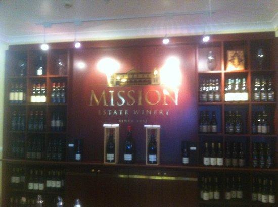 Mission Estate Winery: La sala principale