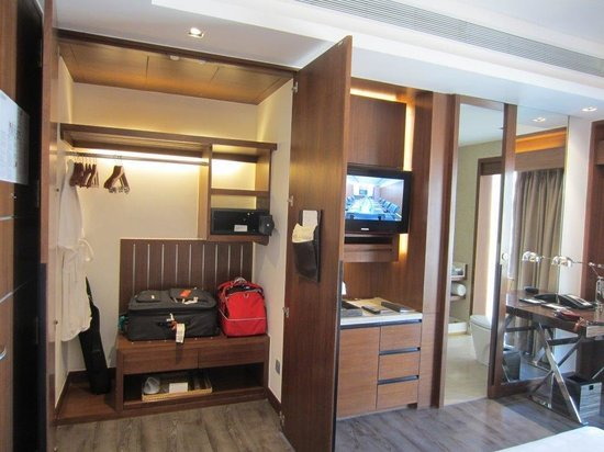 Hyatt Ahmedabad: Ample cupboard space tucked away