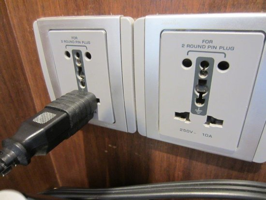 Hyatt Ahmedabad: Brilliant Plugs