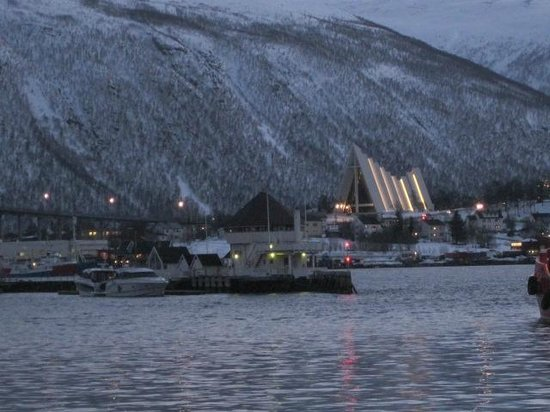 Clarion Collection Hotel With: Arctic cathedral across harbor