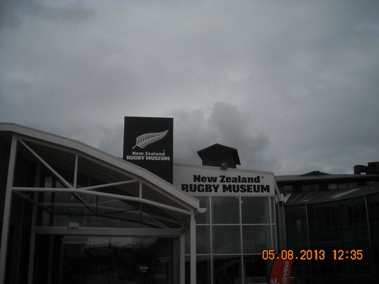 New Zealand Rugby Museum : Ingresso