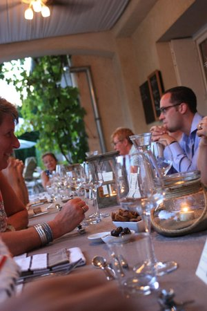 La Roseraie-Drôme : Tables d'hôtes