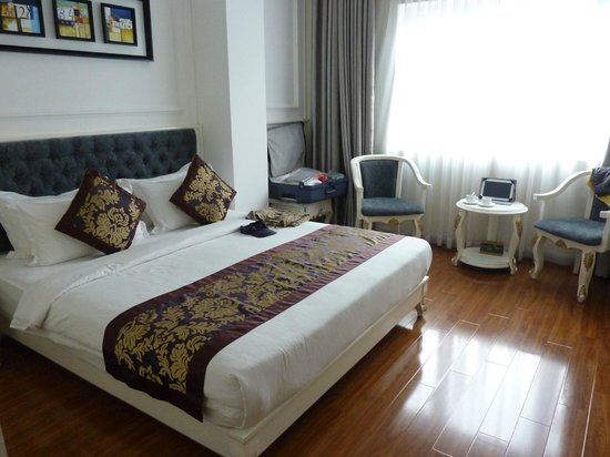 Alagon Saigon Hotel & Spa : Chambre premium