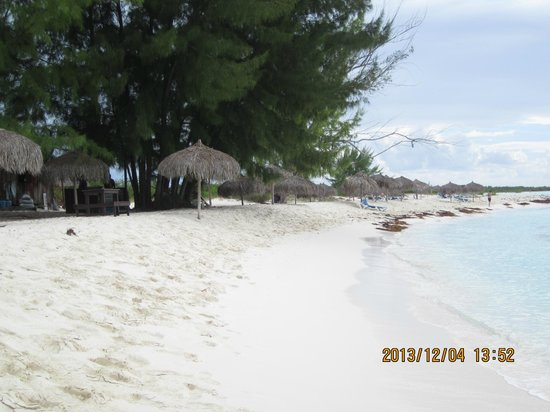 Playa Paraiso : so beautiful, very calm,  we should have spent more time there