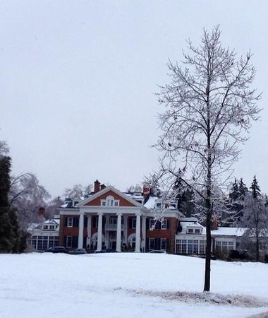 Langdon Hall - ice storm