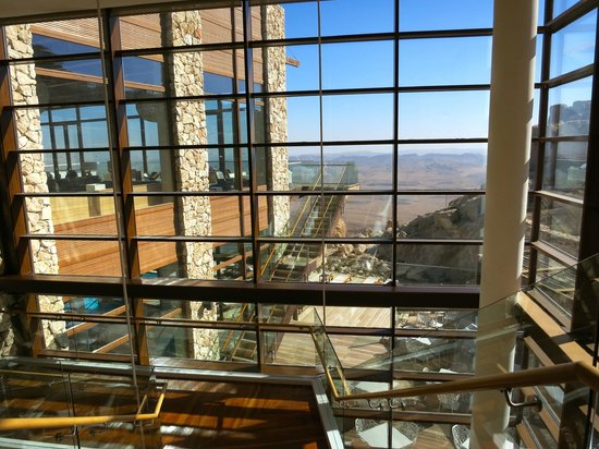Beresheet Hotel by Isrotel Exclusive Collection : view from lobby