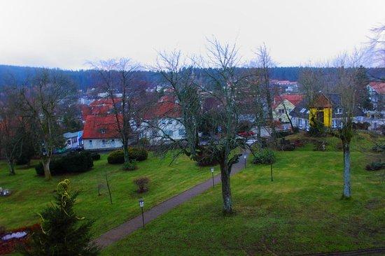 Hahnenkleer Hof Hotel: vom Balkon