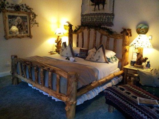 Sonnenhof Bed and Breakfast: Su questo king size si dorme veramente bene!