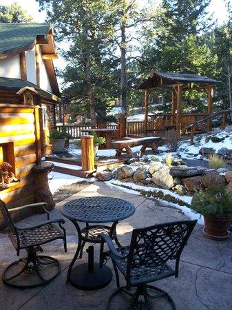 Sonnenhof Bed and Breakfast: Vista all'esterno della Golden Aspen Suite