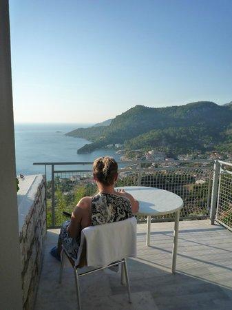 Loryma Resort: Вид на город. Раннее утро.