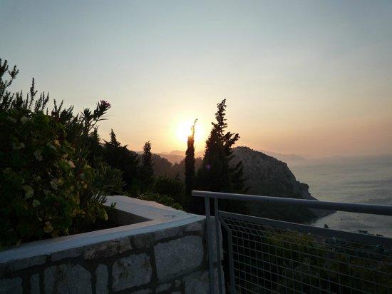 Loryma Resort: Вид из номера - Восход