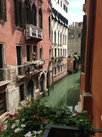 Ca' Bonvicini : View from our room's balcony