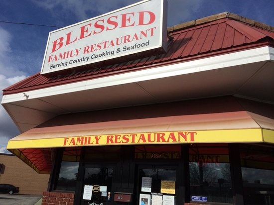 Blessed Family Restaurant: Front