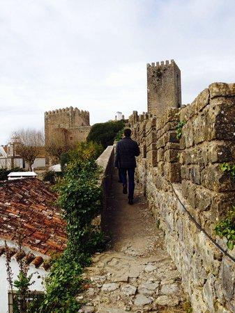 Obidos Village: Caminhando sobre a muralha