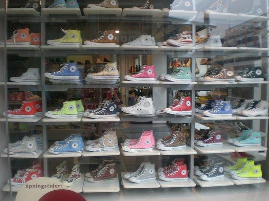 Bergen YMCA Hostel: Converse shop down the road!