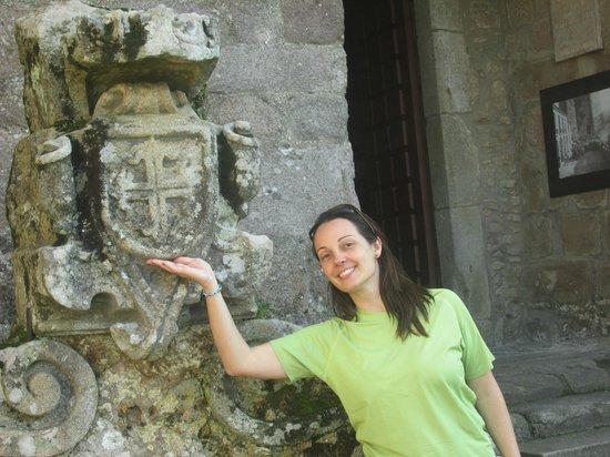 Castelo de Santa Maria da Feira: Brasão dos Pereiras