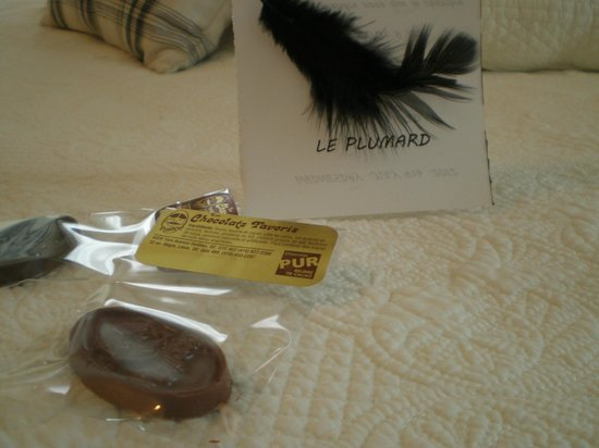 Le Plumard: Warm and cozy welcome treats