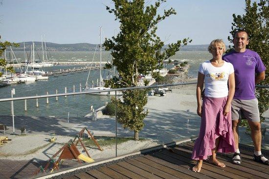 BL YachtClub & Apartments: Вид на Балатон