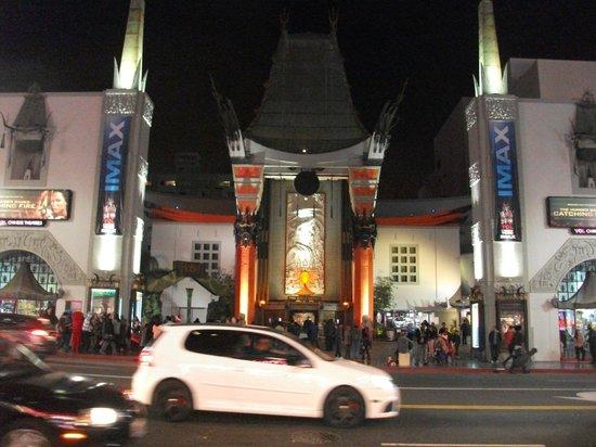 Hollywood Celebrity Hotel: Paseo de la Fama