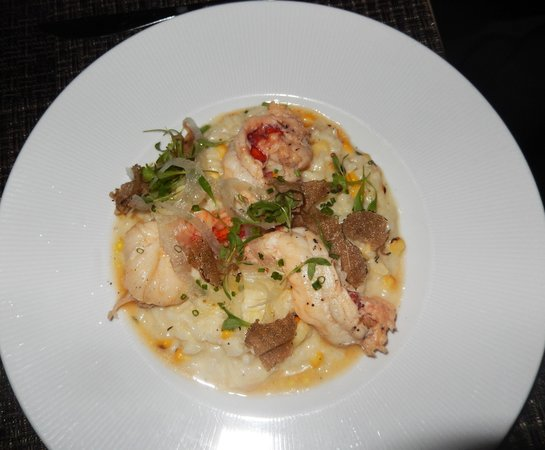 Baleen Naples: Delicious lobster risotto with truffle