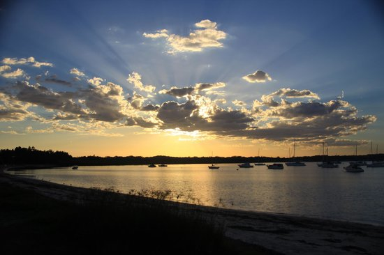 Nelson Bay Bed and Breakfast: Sunset from Soldier's Point