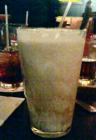 HB Burger: A beer float with the oatmeal stout and vanilla bean icecream.