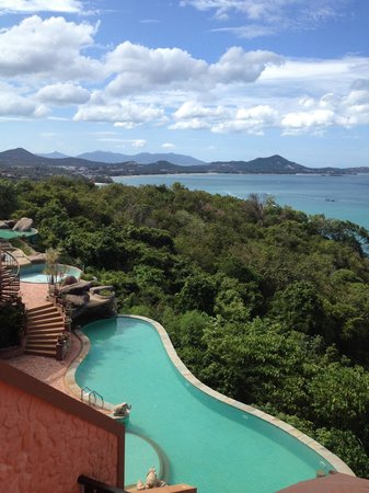 Samui Bayview Resort & Spa: View from Deluxe Seaview