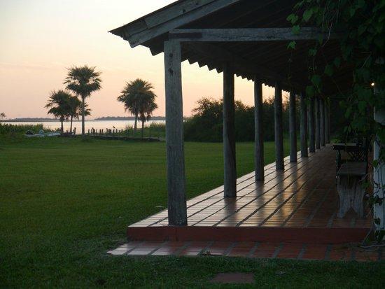 Posada de la Laguna: Vista de galeria / habitaciones