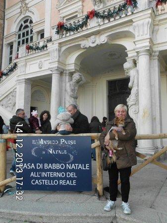 Albergo Motta: castello reale di govone