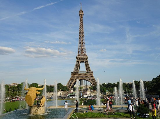 Torre Eiffel Vista Do Trocadero Picture Of Trocadero