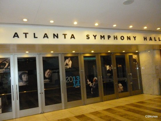 The Woodruff Arts Center: Atlanta Symphony Hall at the Woodruffs Arts Center, Atlanta, GA.