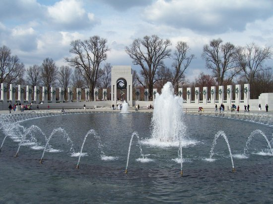 National World War II Memorial: View of the Atantic Arch