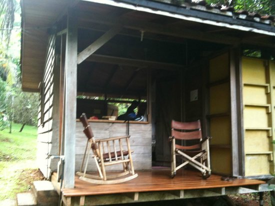 Suital Lodge: Relaxing porch -- there was also a hammock