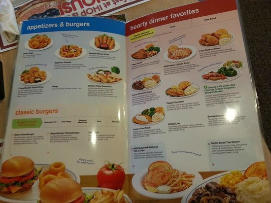 photo about Ihop Printable Menu named Menu - Think about of IHOP, Merrifield - TripAdvisor